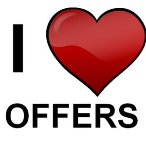 I LOVE OFFERS! BUY WHAT MAKES YOU HAPPY!